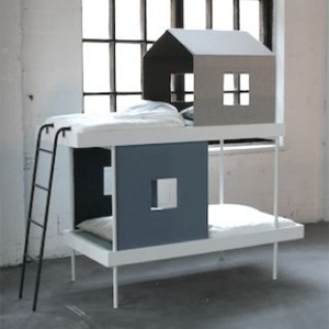 lits superposés enfant déco maison