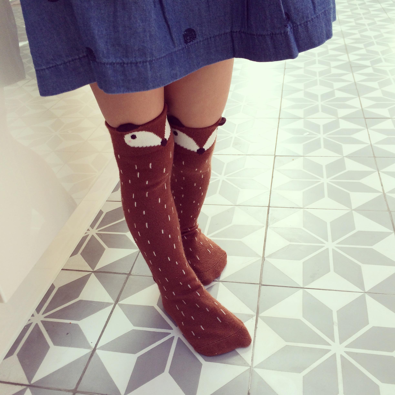 Mini Dressing - chaussettes fox