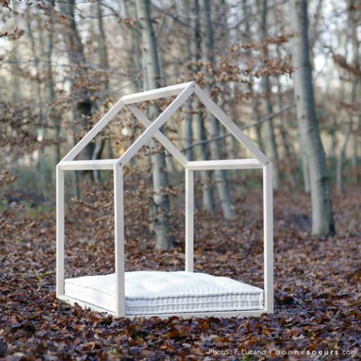 lit cabane enfant cocoeko. Black Bedroom Furniture Sets. Home Design Ideas