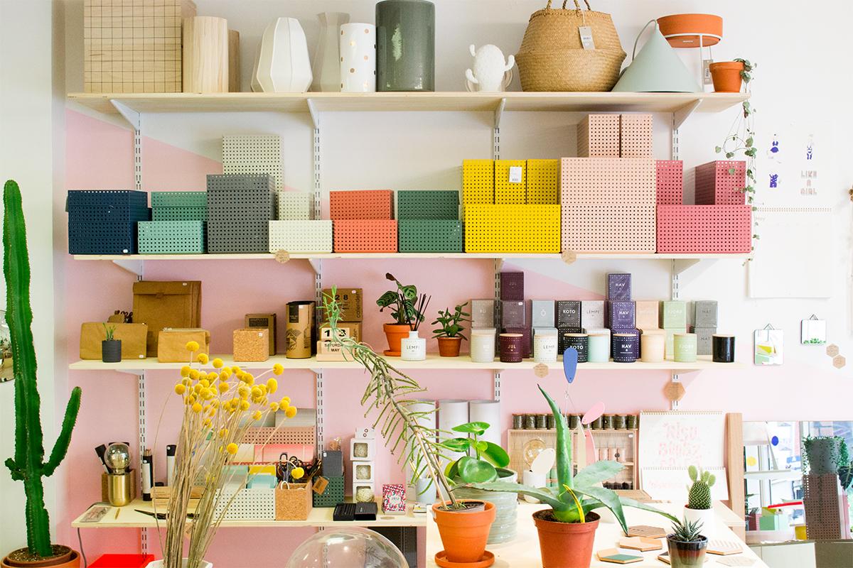 Atelier Kumo - les étagères scandinaves