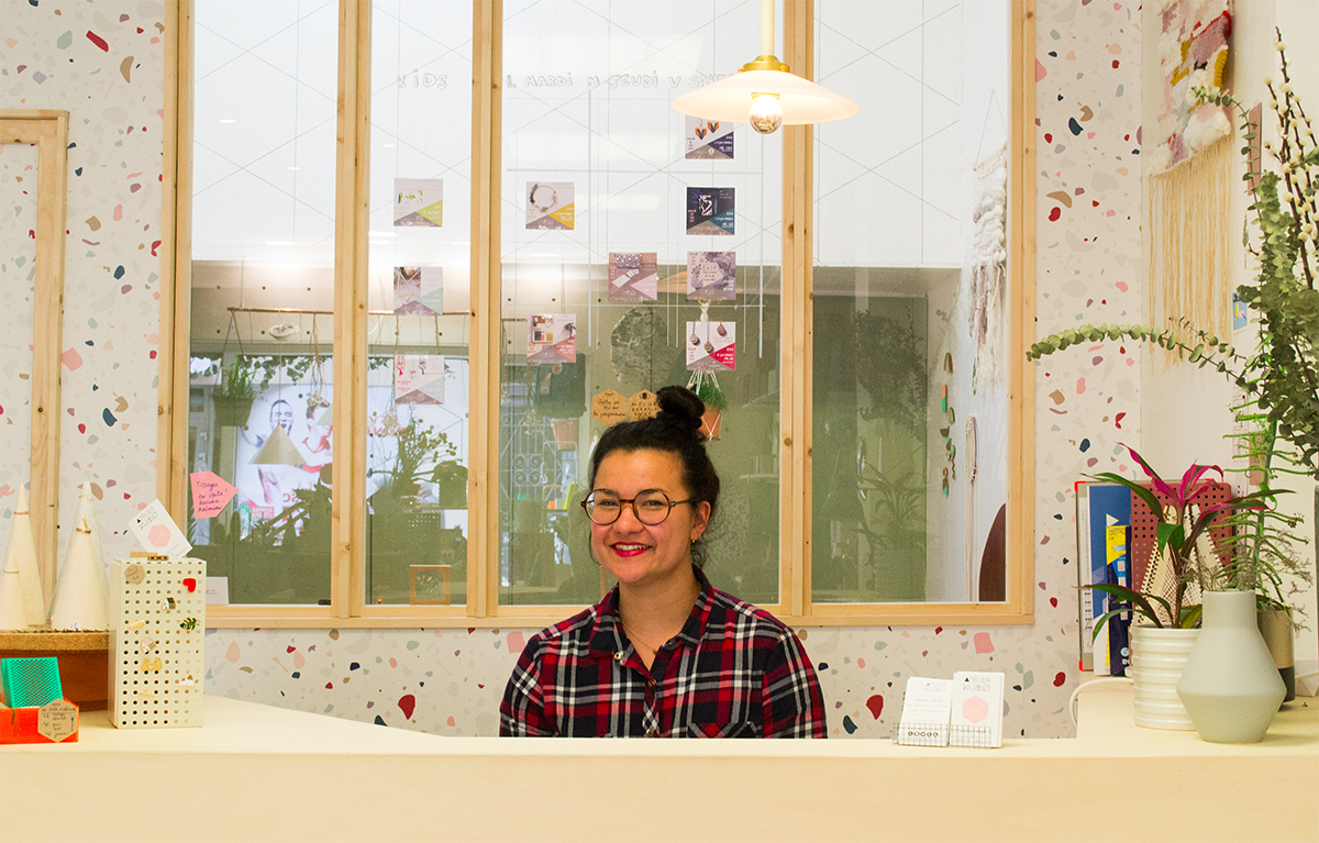 Atelier Kumo - Emilie la fondatrice