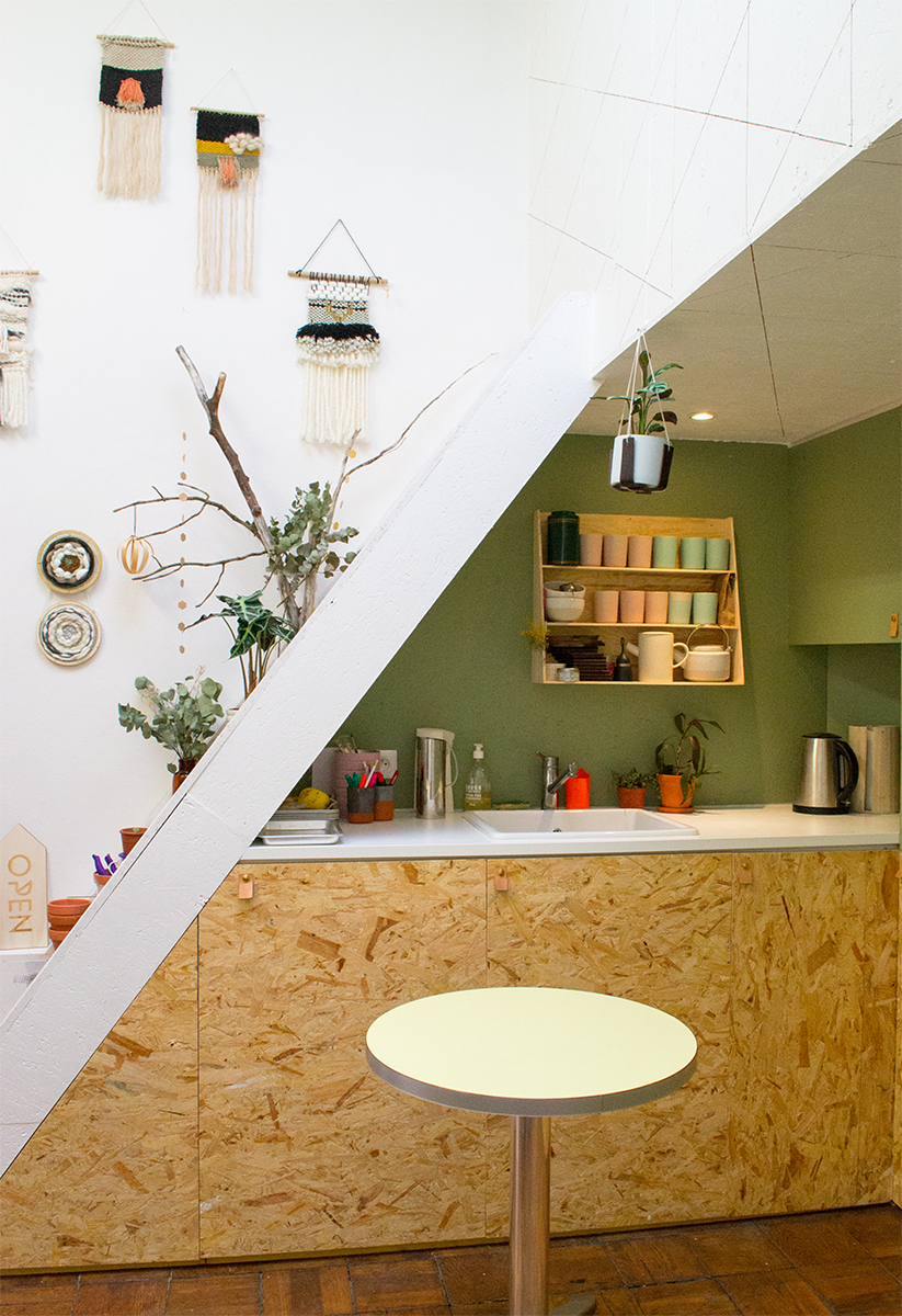 Atelier Kumo - la cuisine