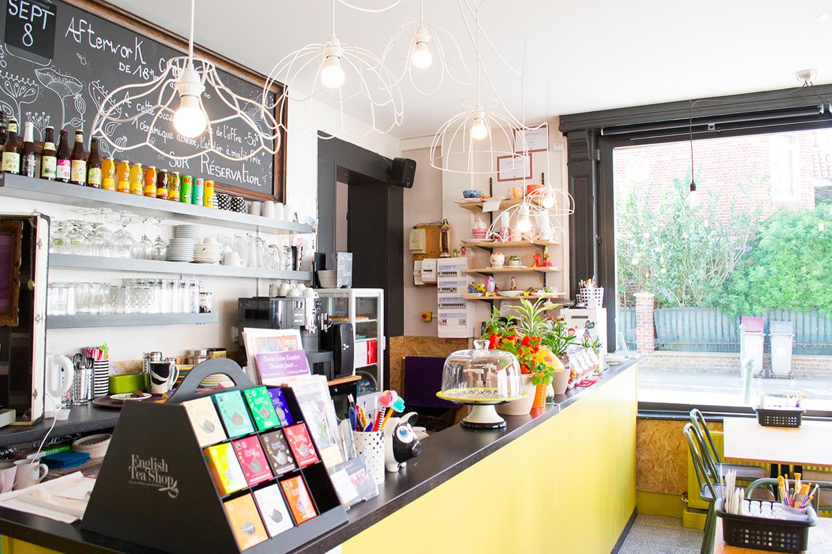 Pop Cup Café céramique - comptoir