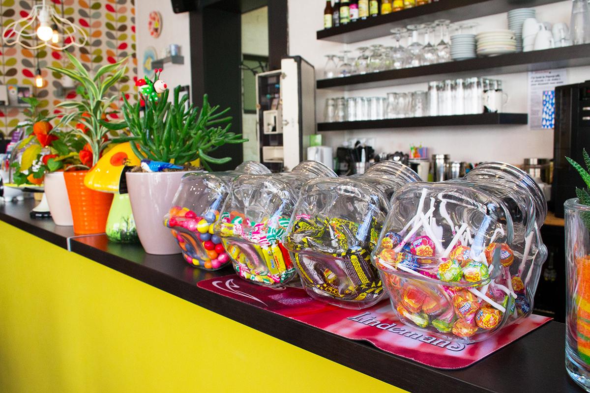 Pop Cup Café Céramique - les bonbons!