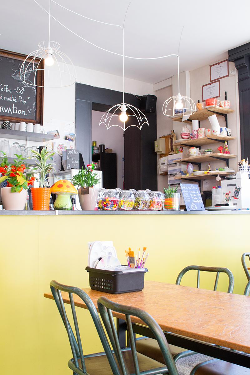 Pop Cup Café Céramique - la salle