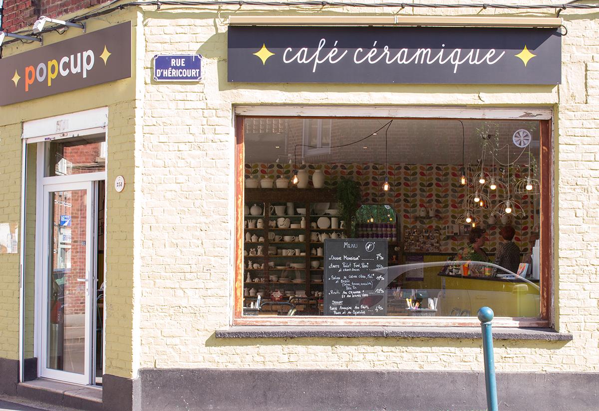 Pop Cup Café Céramique à Marcq-en-Baroeul