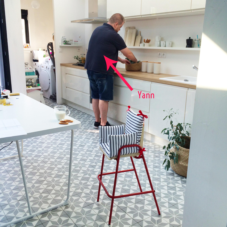 Préparation shooting cuisine Yann
