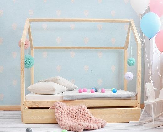 Lit cabane avec tiroir