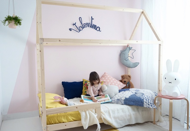 le lit cabane l 39 incontournable de la chambre enfant cocoeko. Black Bedroom Furniture Sets. Home Design Ideas