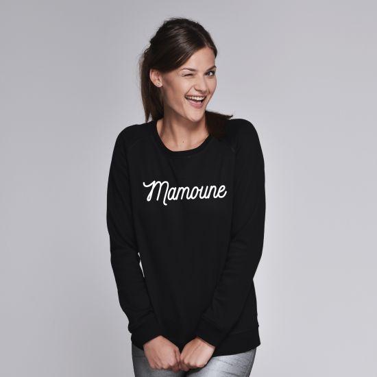 sweatshirt femme mamoune