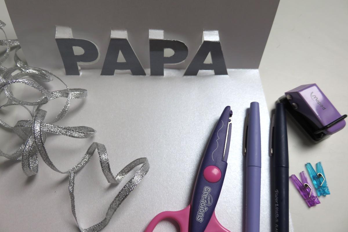 carte papa à télécharger3D