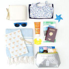 la valise de vacances de bebe