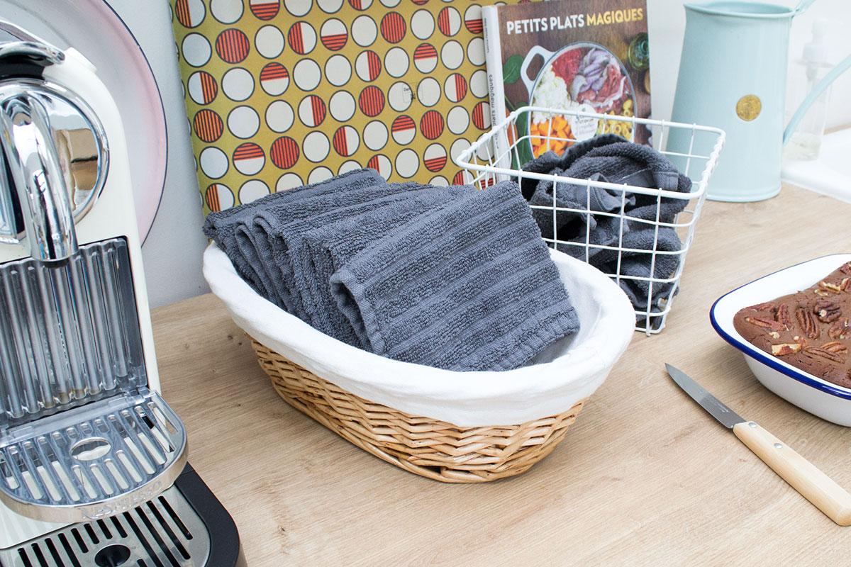 essuie-tout lavables